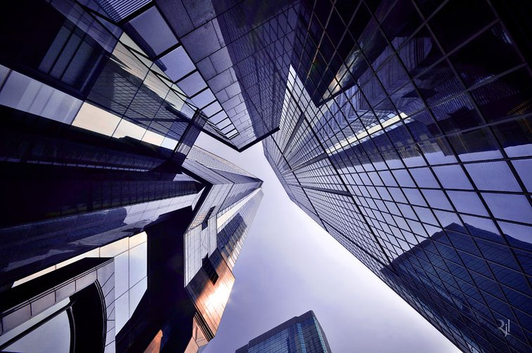 Vertical Horizon, Photo Book of Hong Kong's Soaring Architecture as Seen From Below
