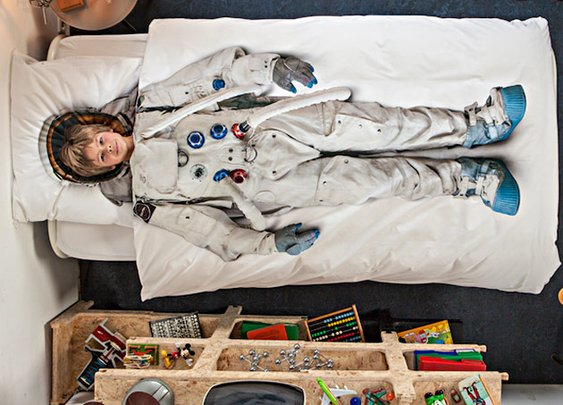 Astronaut Bedding ($80.00)