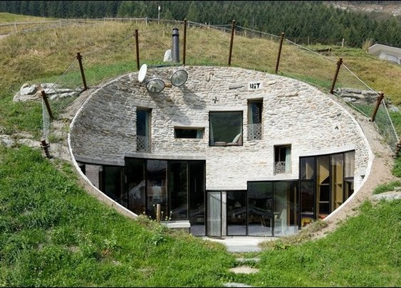 The Coolest Earth Houses around the World