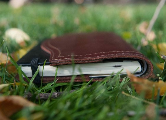 Saddleback Leather Moleskin Cover Review
