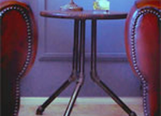 Make an Industrial Side Table