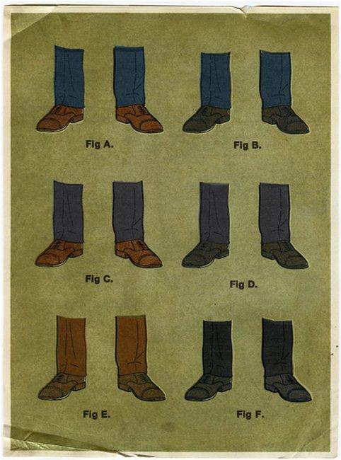 Trouser, Socks & Shoes Combinations