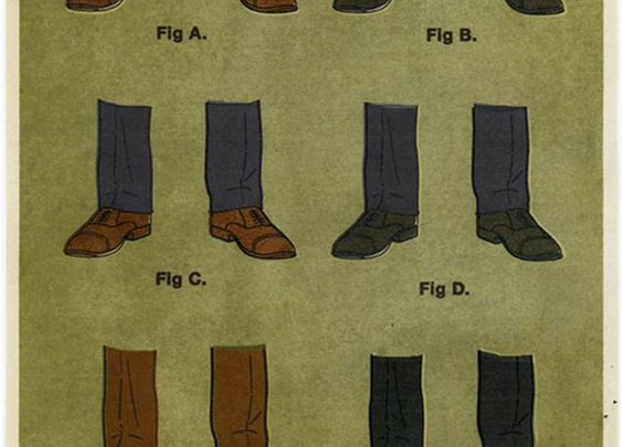 Trouser, Socks & Shoes Combinations