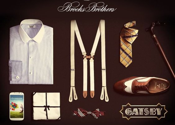 Brooks Brothers' Gatsby Collection