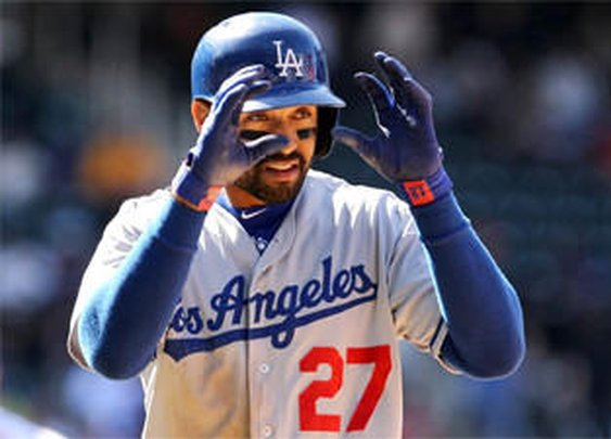 Fan can't believe Matt Kemp's gesture - latimes.com