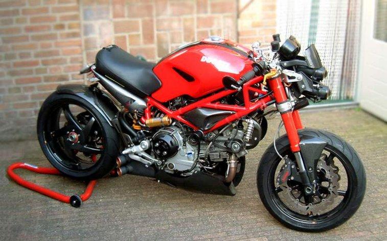 Custom Ducati Monster