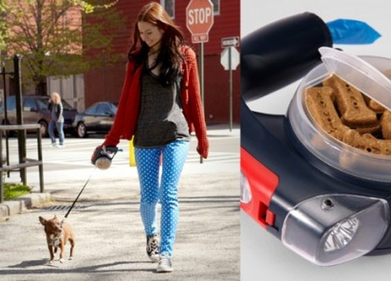 The Smart Dog Leash offers Swiss Army-style multifunction