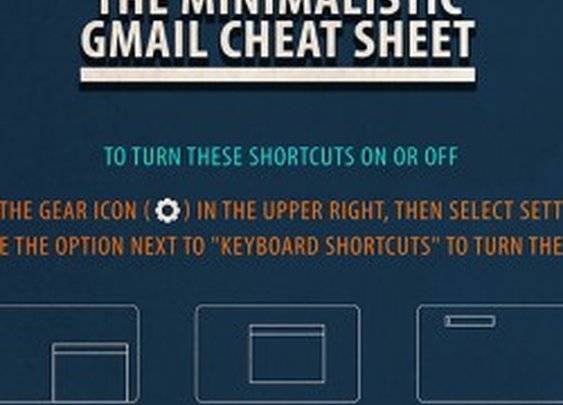 The Minimalistic Gmail Cheat Sheet
