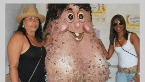 Check Out This Horrifying Brazilian Testicle Mascot