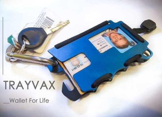 TRAYVAX, Wallet For Life — Kickstarter