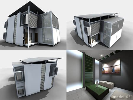 Modern House Prototype Designed Yudha Ratmawan