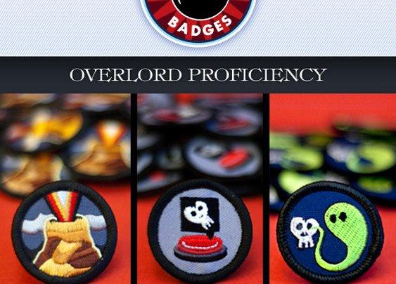 Evil Supply Co. — Evil Merit Badges