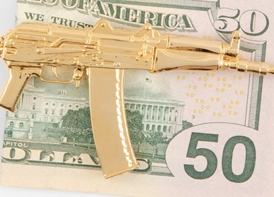 Ak-47 Money Clip