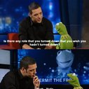 Kermit the Frog as Yoda