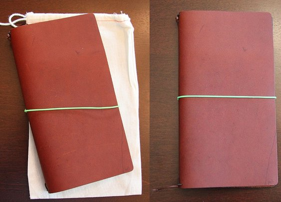Gourmet Pens: Review: Pelle Journal - Burnt Cognac, Large
