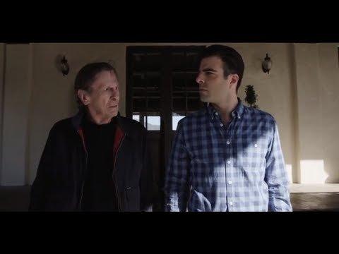 "Zachary Quinto vs. Leonard Nimoy: (Spock) ""The Challenge"" - YouTube"