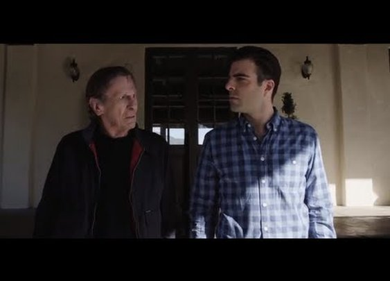 "Zachary Quinto vs. Leonard Nimoy: (Spock) ""The Challenge"" - YouTube"