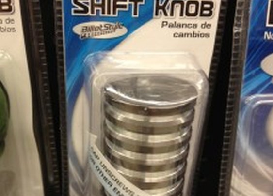Secret Compartment in Shifter Knob