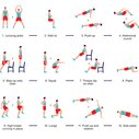 Scientifically better than any other workout. Do each one for 30 seconds at full intensity.
