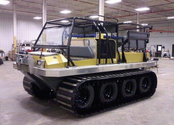 Hydratrek Amphibious Vehicles