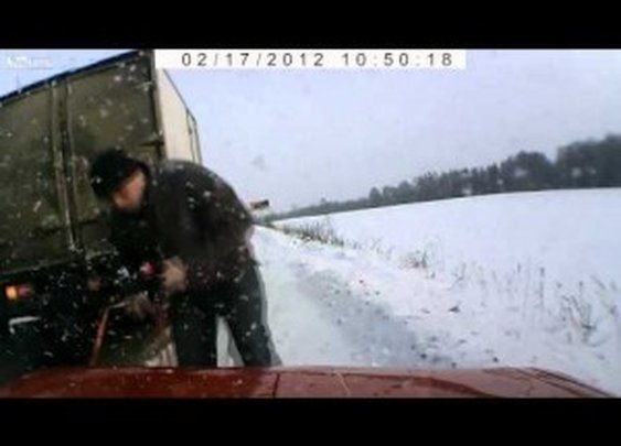 Compilation of Positive Actions Captured by Russian Dash Cams (for a change)