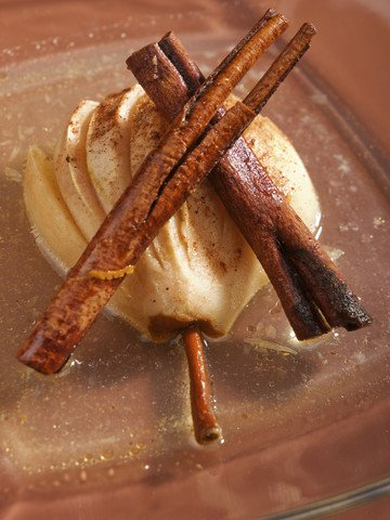 Vanilla Bean & Brown Sugar Baked Pears | Red Stick Spice Company