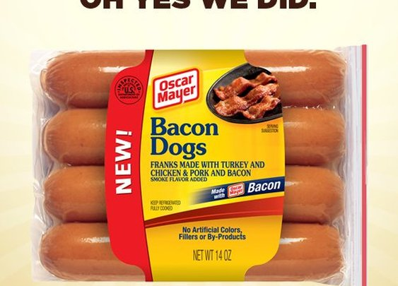 Bacon Dogs Are Here! Thanks, Oscar Mayer | Shine Food - Yahoo! Shine