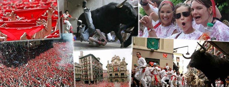 Running of the Bulls   San Fermin 2013   Festival San Fermin Pamplona Spain 2013