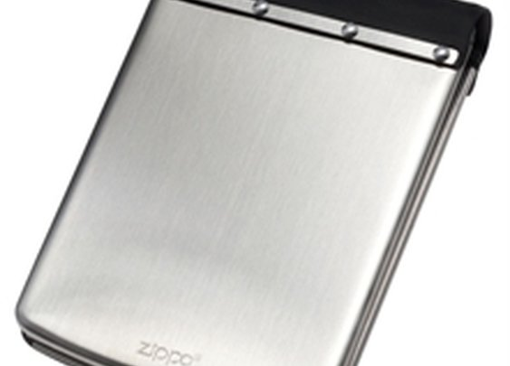 Zippo // Mens Stainless Steel Wallet