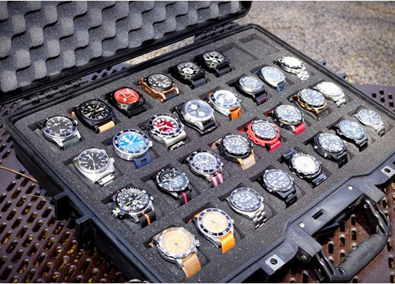 Men's Gear: WATCH COLLECTOR CASES | BY THE MARTINATOR