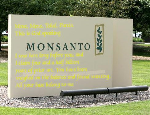 Monsanto GM – Imagine a boot stamping on a human face. Forever «  Simple Living in Suffolk