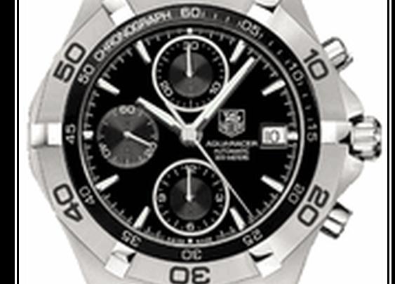 TAG Heuer Aquaracer Mens Chronograph CAF2110.BA0809