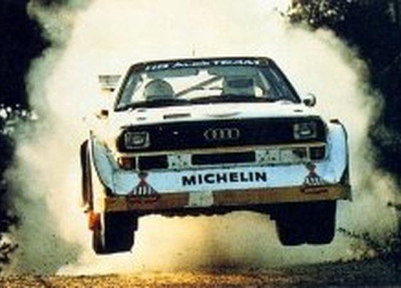 Group B Rally Cars