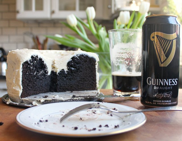 Mmmmm...Chocolate Guinness Cake