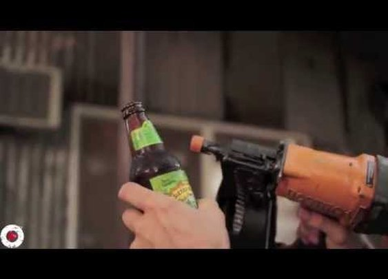 Creative and Ridiculous Ways to Open a Beer