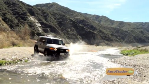2013 Toyota FJ Cruiser Roughed Up by Auto Trader | Toyota Titans