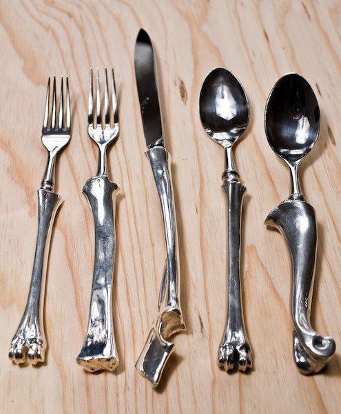 Bone Cutlery by John Gerrard