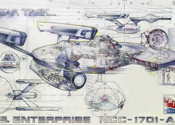 How Much Would It Cost to Build the Starship Enterprise?