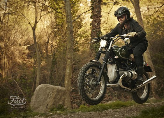 Fuel's BMW R80 STrial | the Bike Shed