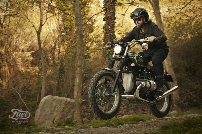 Fuel's BMW R80 STrial | the Bike Shed