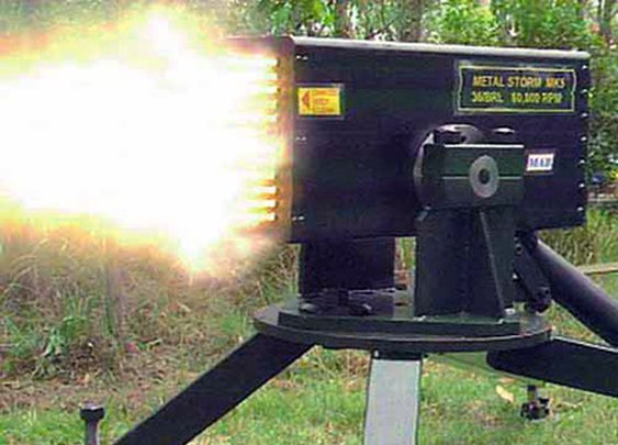 Metal Storm, the Machine Gun That Shoots 1-Million-Rounds Per Minute