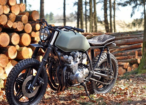 LHC CB 750 Scrambler | the Bike Shed