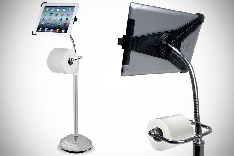 The iPad Commode Caddy by CTA Digital - mikeshouts