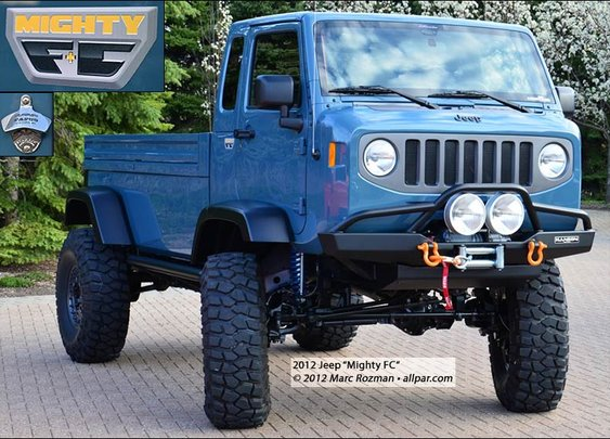 Jeep Mighty FC: 2012 Wrangler Forward Control