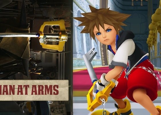 Building Sora's Keyblade (Kingdom Hearts) - MAN AT ARMS