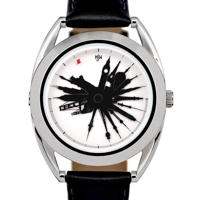 Men's Gear: TIME TRAVELLER WATCH BY MR JONES WATCHES