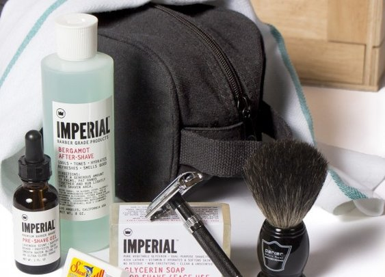 The Classic Shave Crate- simple stuff to clean your face up