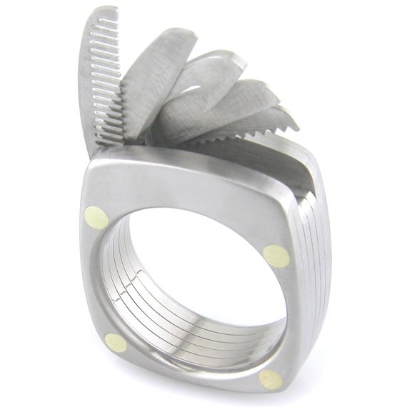 The Man Ring Titanium Utility Ring