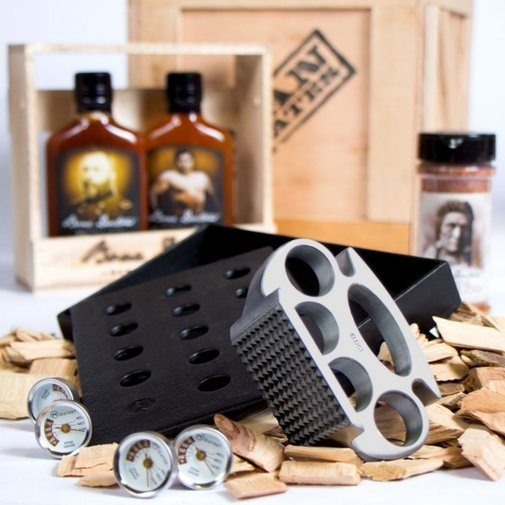 The Grill Master Man Crate | the ultimate arsenal of delicious meat mastery