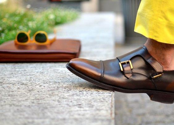 Mens Double Monk Strap Shoes Trends